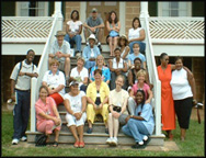 Crafting Freedom Summer Scholars at Prestwould Plantation, Clarksville,VA in 2005.