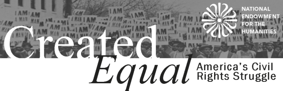 Created Equal Banner