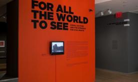 For All The World To See. The exhibition at the International Center of Photography in New York.