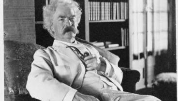 Mark Twain. Photo courtesy of NEH.